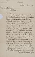 Letter from George R. Bounliff to Robert Logan Jack, September 30, 1892