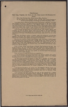 Correspondence re: Chiamdo Agreement and Military Conference at Chungking, October 12 - 18, 1918