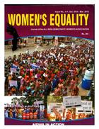 Women's Equality: Quarterly Bulletin of AIDWA, Numbers 4-1, October 2014-March 2015, Women's Equality: Journal of the All India Democratic Women's Association, No. 4-1, Oct. 2014-Mar. 2015