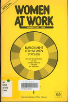 Employment for Women, 1975-85: An ILO Contribution to the United Nations Decade for Women