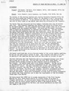 Minutes of Board Meeting, 20 April, '77 Page One