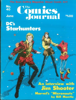 The Comics Journal, no. 40