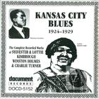 Kansas City Blues: 1924-1929