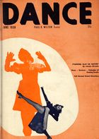 Dance (Magazine), Vol. 4, no. 3, June, 1938, Dance, Vol. 4, no. 3, June, 1938