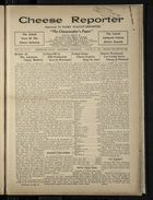 Cheese Reporter, Vol. 54, no. 50, Saturday, August 23, 1930