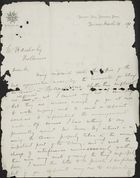 Letter from J. Wilson to William Henry Archer, March 29, 1871