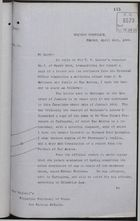 Copy of Letter from C. Mallet to HM Principal Secretary of State for Foreign Affairs re: Documents for Case of Attack on John Robinson and Family, April 24, 1893