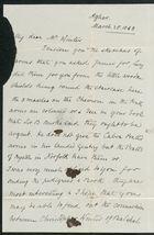 Letter from Anne Winter to Samuel Pratt Winter, March 25, 1868