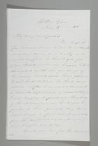 Letter from Sarah Pugh to Richard D. Webb, November 5, 1853