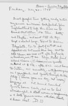 Diary European Trip May - November 1948