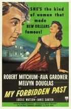My Forbidden Past (1951): Shooting script