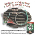 2003 WASBE: The Staff Band of the Norwegian Armed Forces