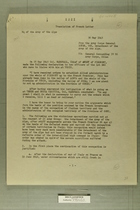 Translation of Memo from General Doyen, May 30, 1945