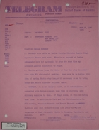 Telegram from Armin H. Meyer to Secretary of State re: Visit by Indian FornMin, May 18, 1966