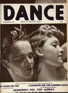 Dance (Magazine), Vol. 3, no. 2, November, 1937, Dance, Vol. 3, no. 2, November, 1937