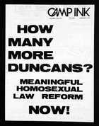 Camp Ink: Volume 2, Numbers 8/9, June/July 1972
