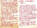 Handwritten Minutes from SPREE Board Meeting, October 25, 1971