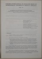 Congrès International de Sexologie Médicale - International Congress of Medical Sexology (Le Traitement Des Dysfonctions Sexuelles Des Couples Comme Elément D'Un Service Public De Consultation Matrimoniale) - Paris 1974