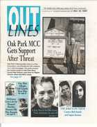 OUTLINES The Weekly Voice of the Gay, Lesbian, Bi & Trans Community Serving the Community Since 1987 NOV. 10, 1999