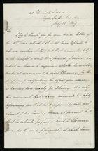 Letter from Alfred J. Johnson to Samuel Pratt Winter, July 16, 1869