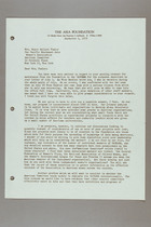 Letter from Harry H. Pierson to Helen Fowler, September 4, 1956