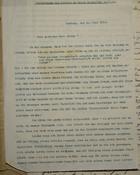 Fortsetzung des Briefes an Herrn Dr. Hoefft, July 21, 1913