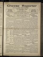 Cheese Reporter, Vol. 54, no. 9, Saturday, November 9, 1929