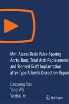Mini Access Redo Valve-Sparing Aortic Root, Total Arch Replacement and Stented Graft Implantation after Type A Aortic Dissection Repair