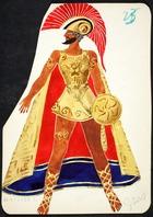 Achilles I, 1928 (w/c on paper)