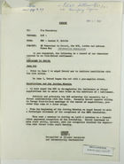 Information Memorandum from Lucius D. Battle to the Secretary re: U. S. Démarches to Israel, the U. A. R., Jordan and Lebanon since May; c. May 21, 1968