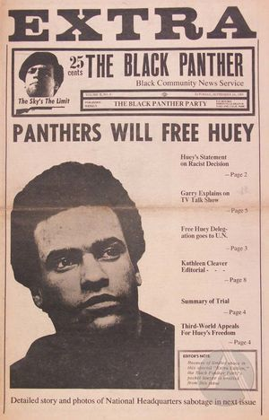 The Black Panther 2 no. 6:1-14 (September 14, 1968)