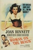Woman on the Beach (1947): Shooting script