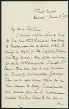 Letter from Louisa Anne Meredith to Edith Thompson, June 11, 1893