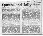Queensland Folly