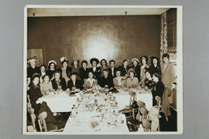 Dorothy Kenyon at Banquet with Eleanor Roosevelt and Others, n.d.
