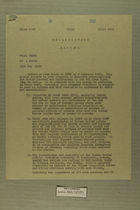 Unclassified Memo from OMGUS to USFET, 1947