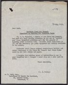 Letter from P. J. Harrop to A. W Boyd re: Scottish Clean Air Council Committee on Ignition for Smokeless Fuels, July 18, 1958