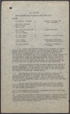 Air Pollution - Note of Meeting Held on Thursday, 23rd April 1953