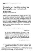 Navigating in a Sea of Uncertainty: An Emerging Economy Multinational
