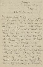 Letter from Ellie Love Macpherson to Maggie Jack, November 22, 1880
