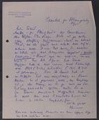 Letter from David Simonsen to Markus Brann, July 12, 1915