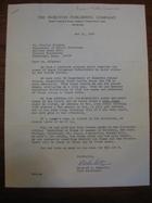Richard A. Denholtz to Stanley Milgram, October 31, 1966