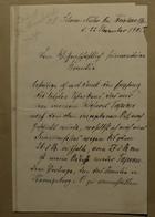 Letter, November 22, 1905