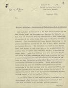 Circular: National Rationing - Distribution of Ration Books R.B. 1 [General], November 1939