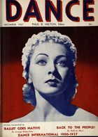 Dance (Magazine), Vol. 3, no. 3, December, 1937, Dance, Vol. 3, no. 3, December, 1937