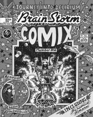 Brain Storm Comix, no. 1