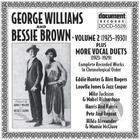 George Williams & Bessie Brown Vol. 2 (1925-1930)