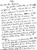 Handwritten Notes by Emily Greene Balch at the International Congress of Women at the Hague, 1915