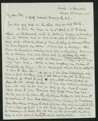 Letter from Robert Anderson to Edith Thompson, March 31, 1916