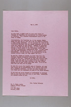 Letter from Mrs. Porter McKeever to H. Elsie Austin, May 9, 1967